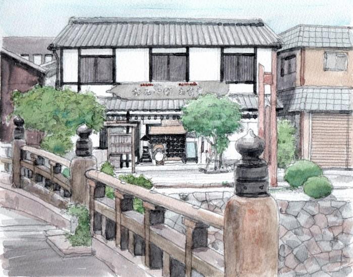 八幡堀の土産店 (700x550)