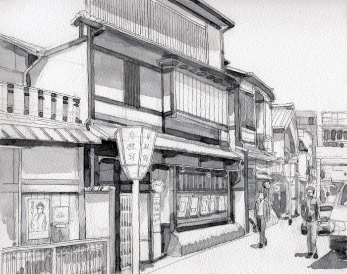 京都花見小路 グリザイユ (700x552)