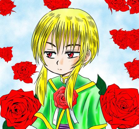 闇の薔薇アラン