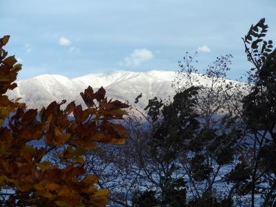 藻琴山真っ白