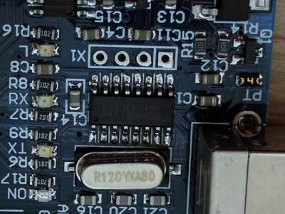 USBシリアル変換チップ