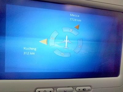 飛行機のエンターテイメントシステム(2)