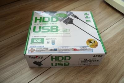 IDE-USB変換ケーブル 外箱