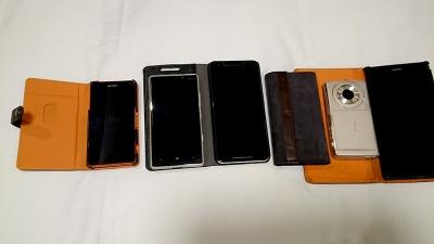 携帯電話たち