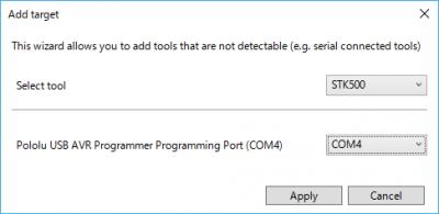 プログラマの設定