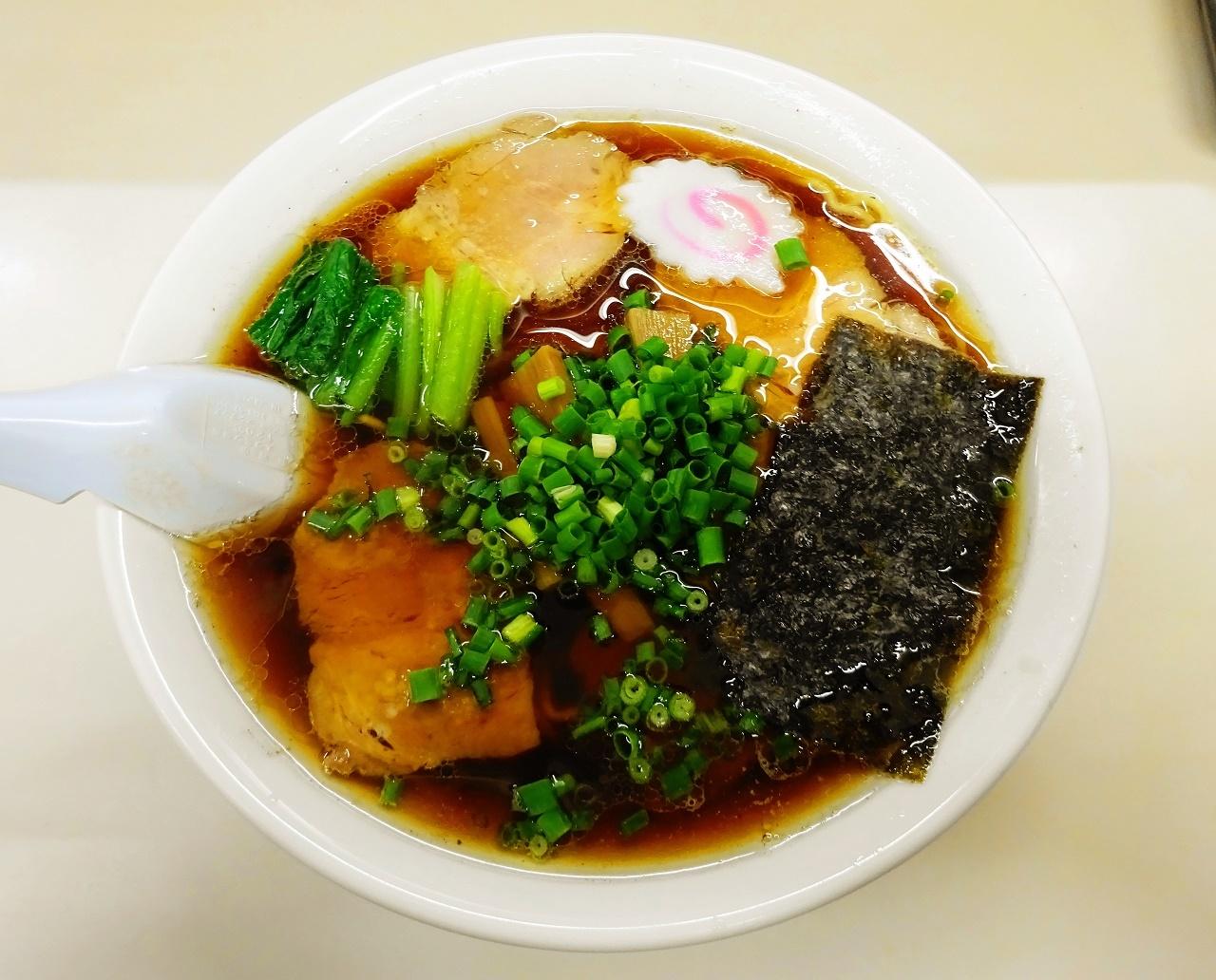 清水軒 チャーシュー麺