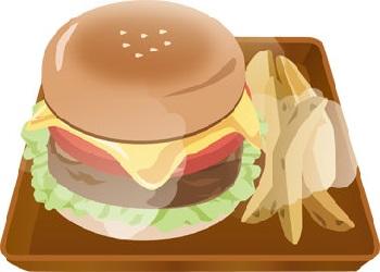 フレーム ハンバーガー