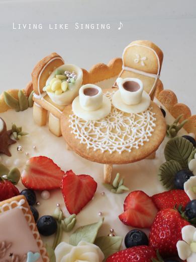 ウェディングケーキ②