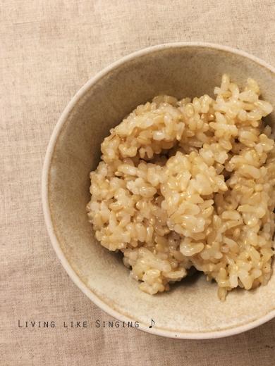 圧力鍋で玄米②