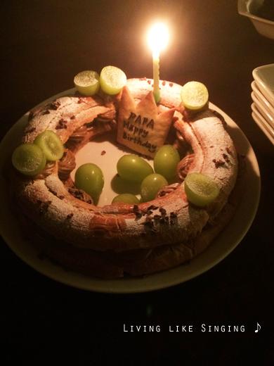 誕生日の食卓③