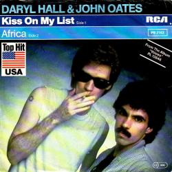 Daryl Hall John Oates - Kiss On My List2
