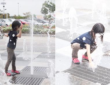 子ども 水遊び