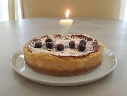 7歳 誕生日ケーキ アレルギー