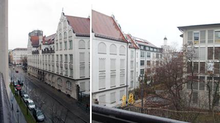 部屋からの眺め ドイツホテル