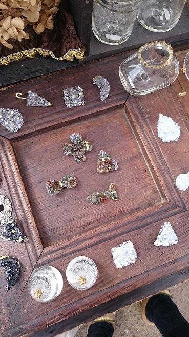 まつの葉のガラス