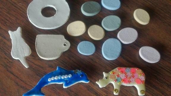 ホタルの宿 手しごとまつり 陶芸1
