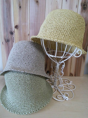 和紙の帽子2