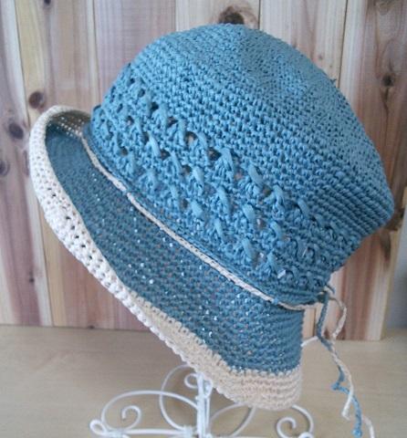 和紙の帽子8