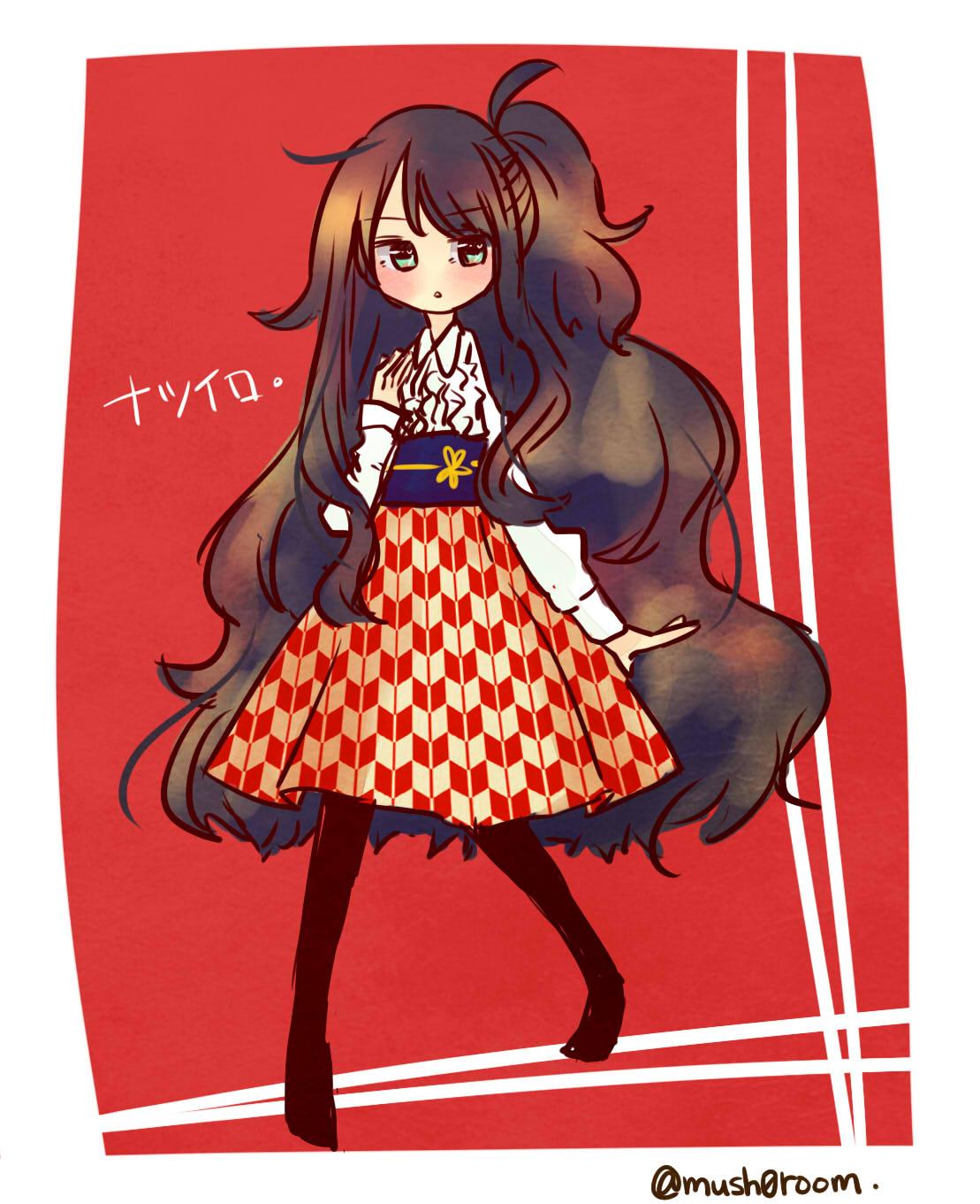 矢絣スカート