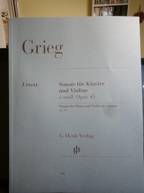 Grieg Violin sonata