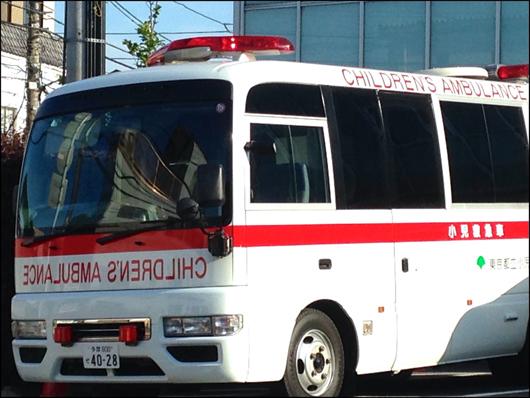 子供用救急車