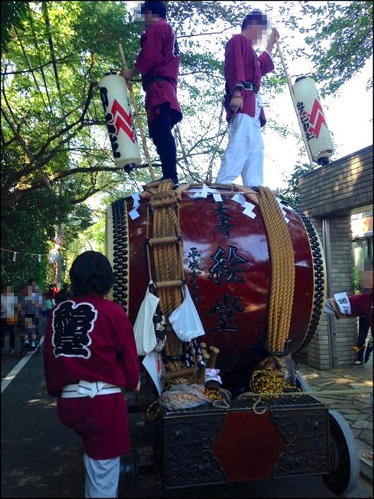 絵堂の太鼓