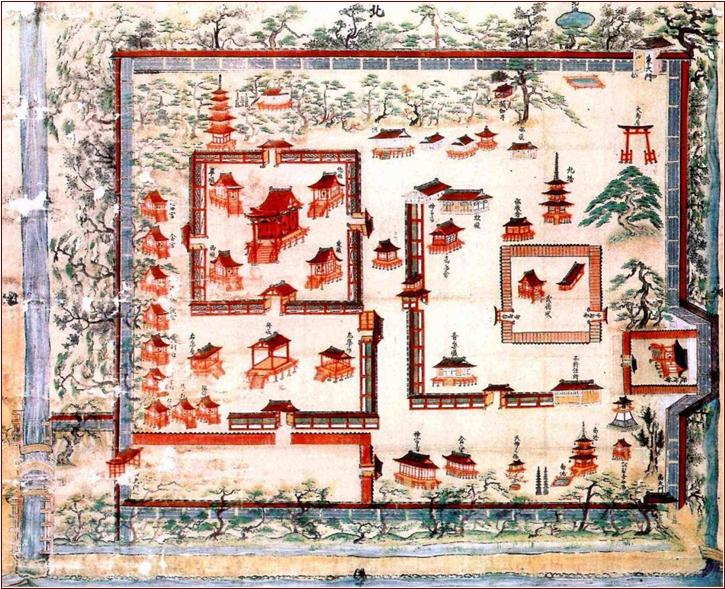 気比神社伽藍絵図
