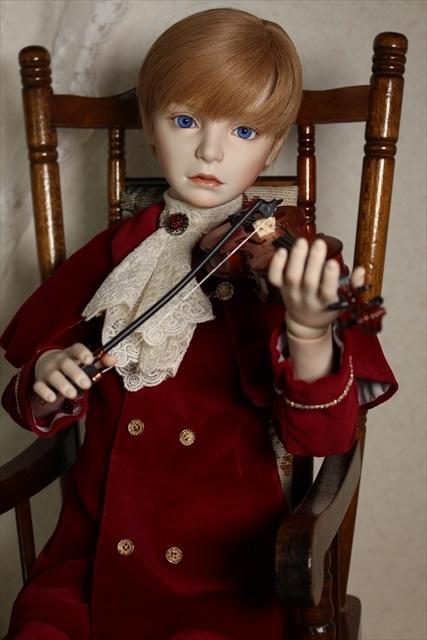 バイオリンと少年ドール 美少年ドールが作りたい