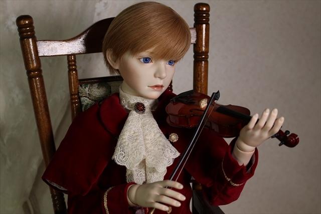 アラン バイオリンと少年 美少年ドールを作りたくて