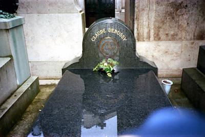 ドビュッシーの墓