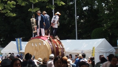 世田谷祭り太鼓