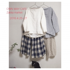OWN WAY CAFE Zakka market