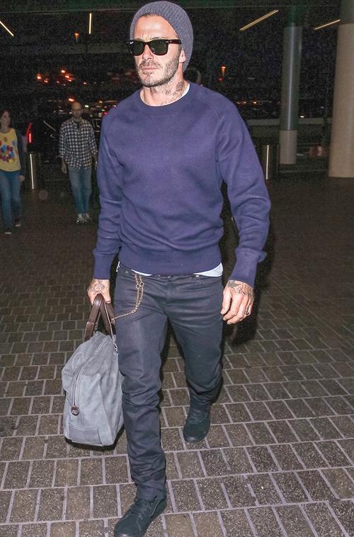 デヴィッド・ベッカム(David Beckham):トムフォード(Tom Ford)/バンズ(Vans)/レイバン(Ray-Ban)