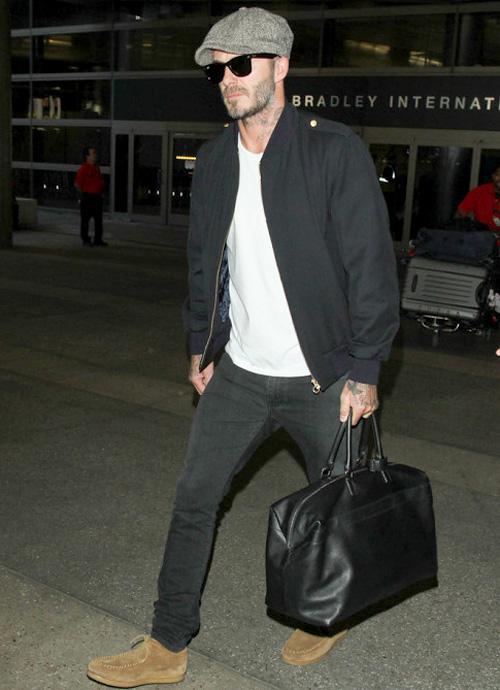 デヴィッド・ベッカム(David Beckham):ケント・アンド・カーウェン(Kent And Curwen)/サンローラン(Saint Laurent)/サンローラン(Saint Laurent)