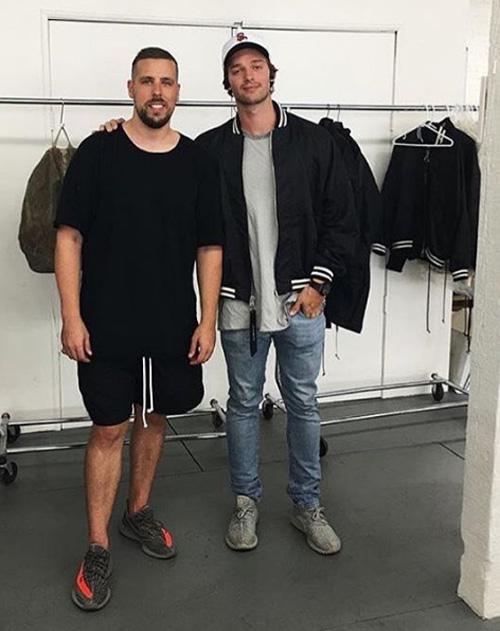 パトリック・シュワルツェネッガー(Patrick Schwarzenegger):ダニエル・パトリック(Daniel Patrick)アディダス(Adidas)ナイキ(Nike)