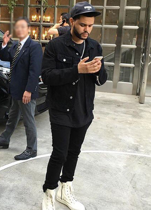 ザ・ウィークエンド(The Weeknd):ミスターコンプリートリー(Mr Completely)リックオウエンス(Rick Owens)ジバンシィ(Givenchy)