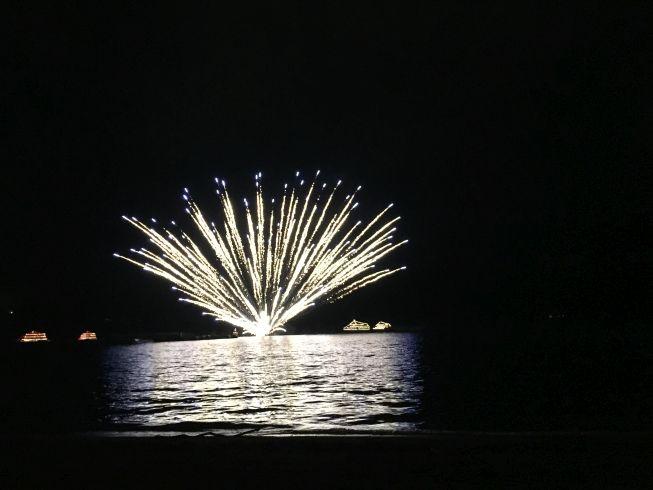 十和田湖 花火大会