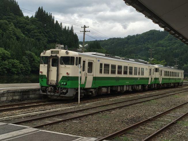 会津川口駅 只見線