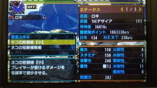 シャガル 弓TA 記録更新 1-2