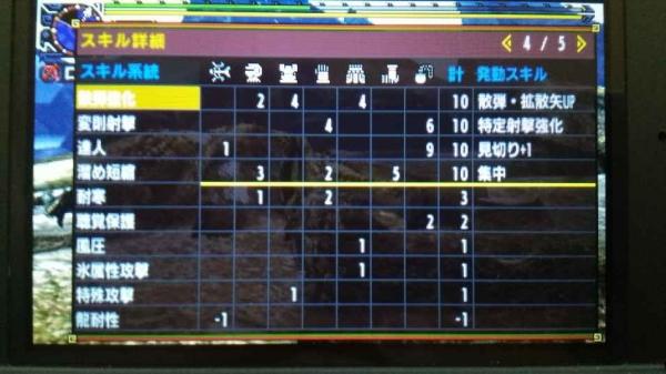 シャガル 弓TA 記録更新 1-5
