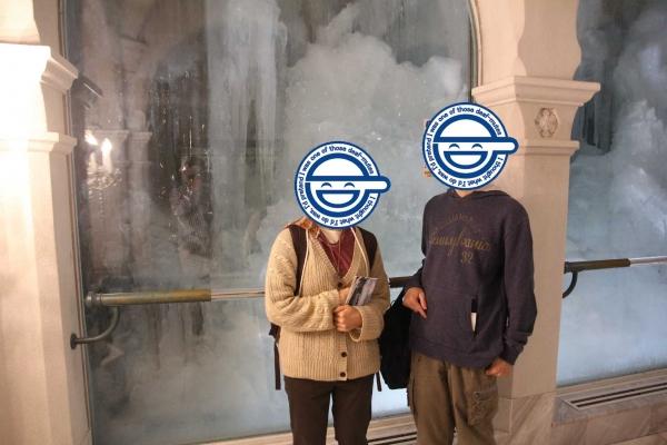 雪の美術館1