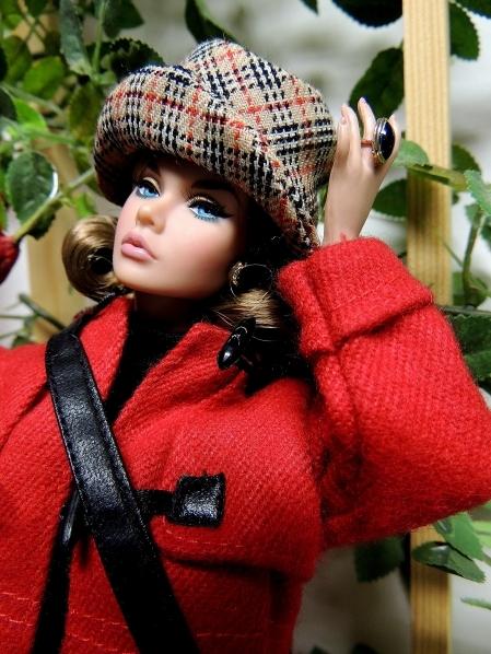 寒いから、コートを着よう~!