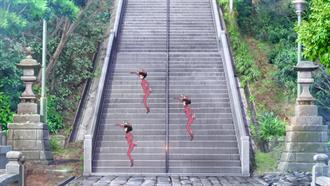 大洗磯前神社階段 ガールズ&パンツァー 聖地巡礼