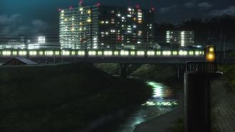響け!ユーフォニアム 聖地巡礼 京阪 京阪 六地蔵駅南側 山科川水門付近