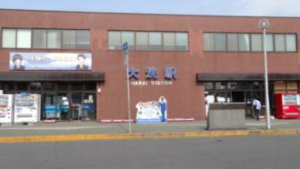 大洗駅前 劇場版ガールズ&パンツァー 聖地巡礼