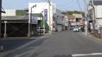 米藤金物店付近 劇場版ガールズ&パンツァー 聖地巡礼