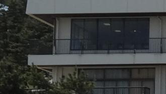 大洗町観光情報センター前 劇場版ガールズ&パンツァー 聖地巡礼