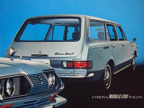 71年2月 コロナマークⅡワゴン