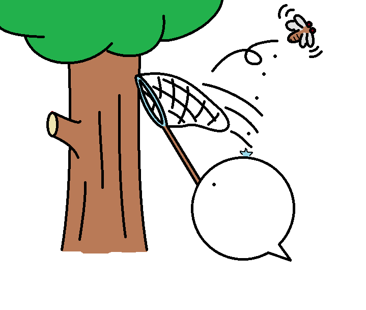 341つちのこ昆虫採集2