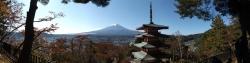 20161104新倉山浅間公園からの富士山4